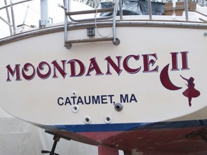 Cape cod custom signs boat lettering for Boat lettering styles